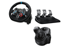 941-000112+941-000130 - Logitech G29 Driving Force (PS4-PS3-PC) + Driving Force Shifter - Kierownica i zestaw pedałów - Sony PlayStation 3